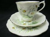Royal Albert Narcissus tea trio